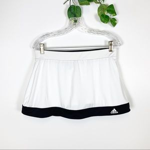 Adidas Climalite - White & Black Active Skort - M